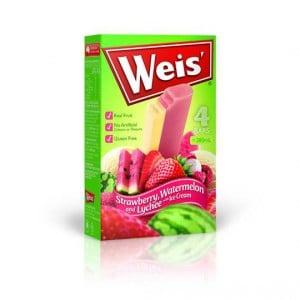 Weis Ice Cream Strawberry Watermelon