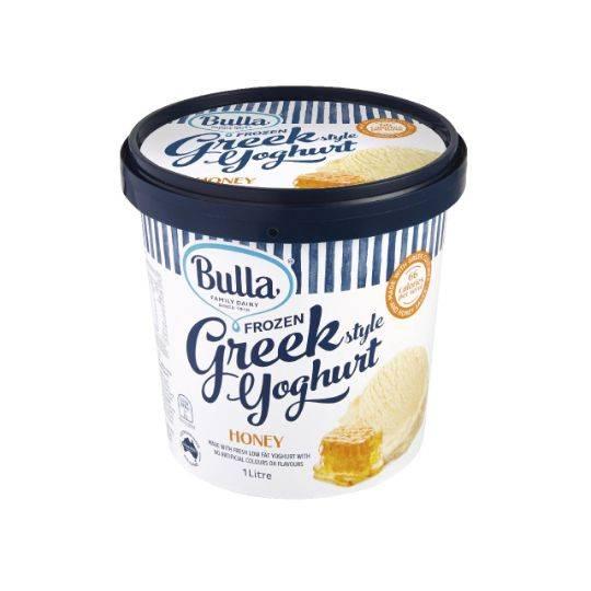 Bulla Frozen Greek Yoghurt Honey