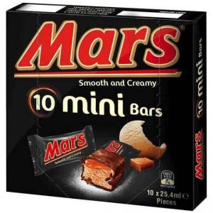 Mars Ice Cream Bars Minis