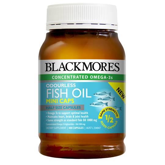Blackmores Fish Oil Mini Odourless