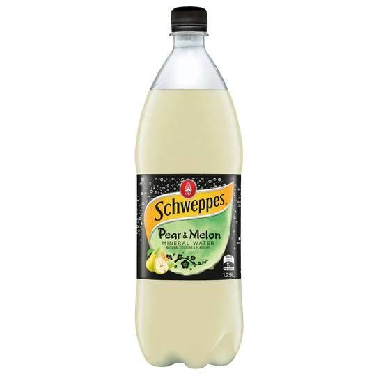 mom283094 reviewed Schweppes Pear & Melon Mineral Water