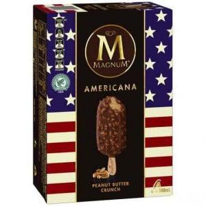 Streets Magnum Americana Ice Cream Peanut Butter Crunch