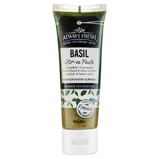 Always Fresh Stir In Paste Basil