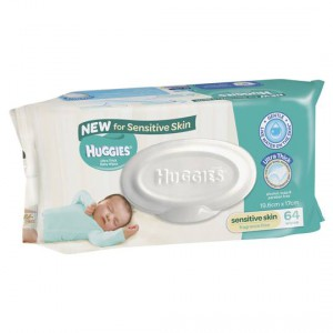 Huggies Ultra Thick Wipes For Sensitive Skin