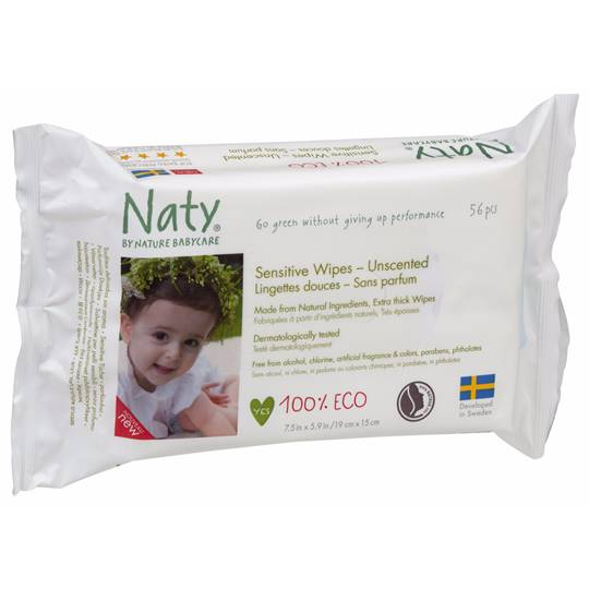 mom90511 reviewed Naty By Nature Babycare Eco Sensitive Wipes Unscented