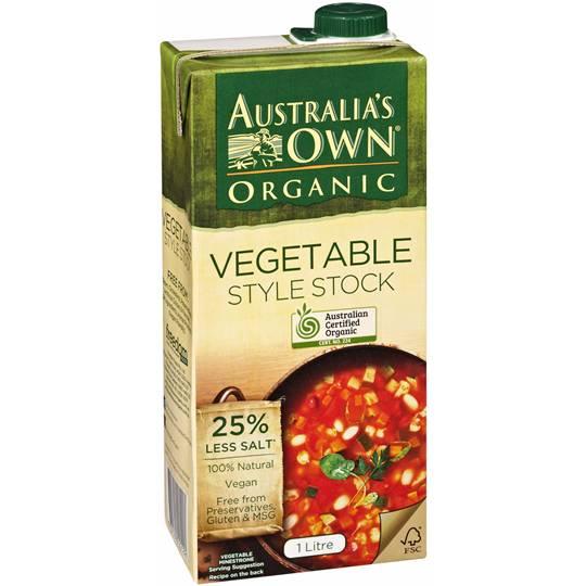 Australia's Own Organic Vegetable Style Stock