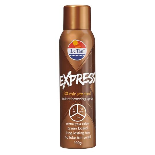 Le Tan Express Tan Aerosol Spray