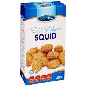 Bayview Gluten Free Salt & Pepper Squid