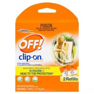 Off Clip On Mosquito Repellent Refills