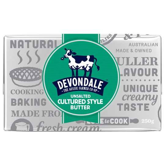 Devondale Cultured Style Unsalted Butter