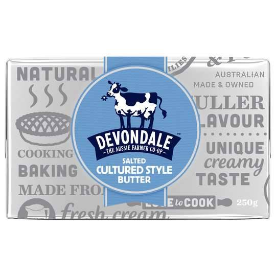 Devondale Cultured Style Salted Butter