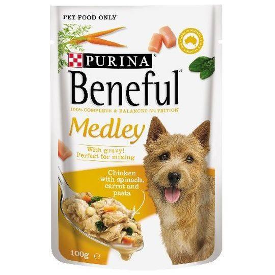 Beneful Chicken Medley Pouch