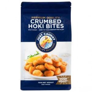 Just Caught Crumbed Hoki Bites
