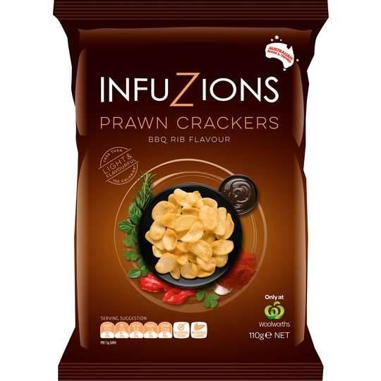 Infuzions Bbq Rib Prawn Crackers