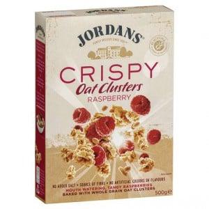 Jordans Raspberry Crispy Oat Clusters