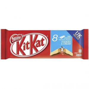 Kit Kat 2 Finger Cookies And Cream Chocolate Biscuit