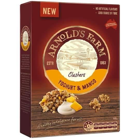 Arnolds Farm Clusters Yoghurt & Mango