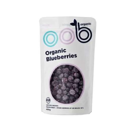 Oob Organic Frozen Blueberries