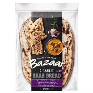 Bazaar Garlic Naan