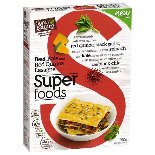 Super Nature Beef Kale Lasagne