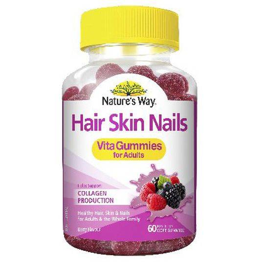 Nature S Way Hair Skin Nails Gummies Review
