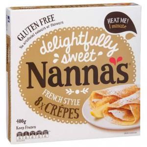 Nannas Frozen Crepes