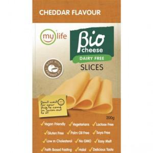 Bio Cheese Cheddar Slices