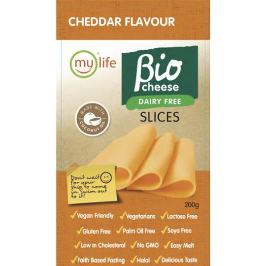 Bio Cheese Cheddar Slices