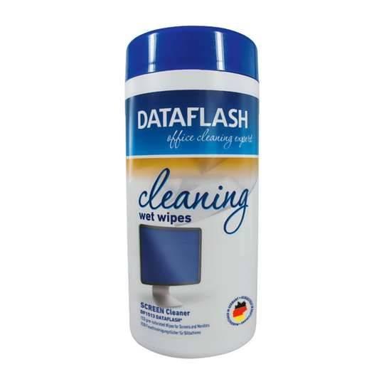 Dataflash Cleaning Wet Wipes Tub 100pk