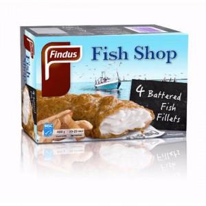 Findus Fish Shop Beer Battered Fish Fillets 4pk