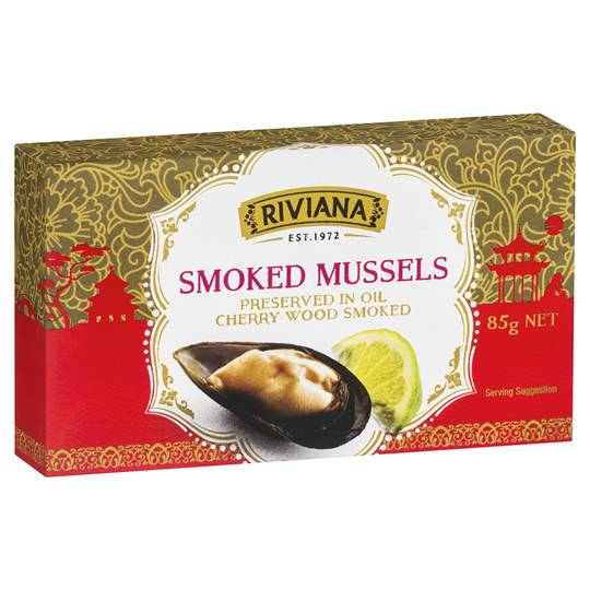mom112217 reviewed Riviana Smoked Mussells