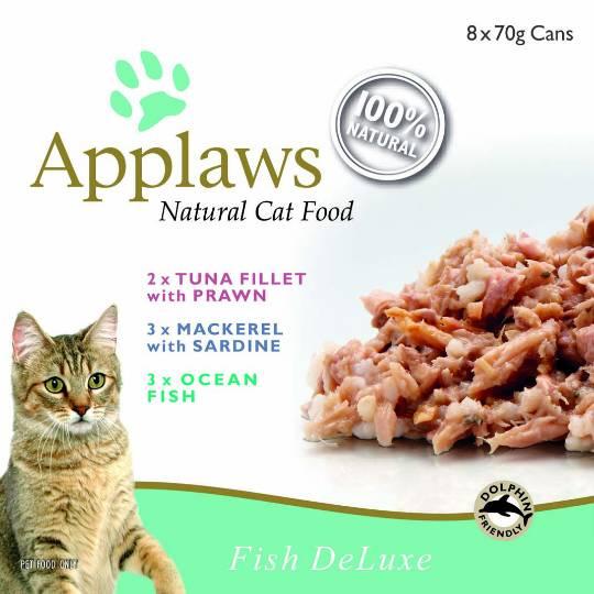 Applaws Cat Food Fish Deluxe