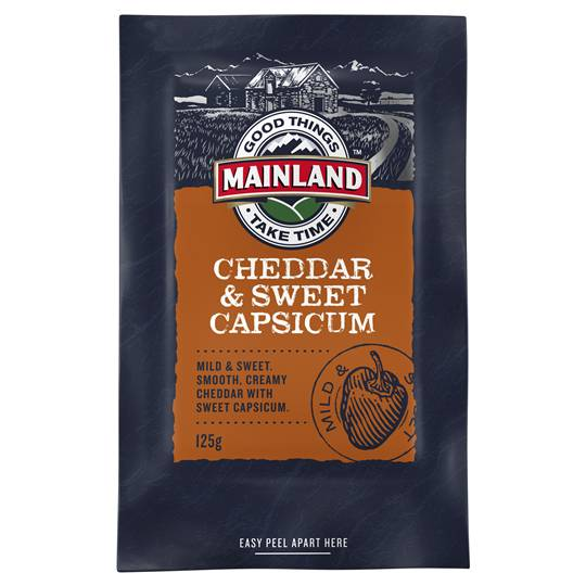 Mainland Cheddar Sweet Capsicum