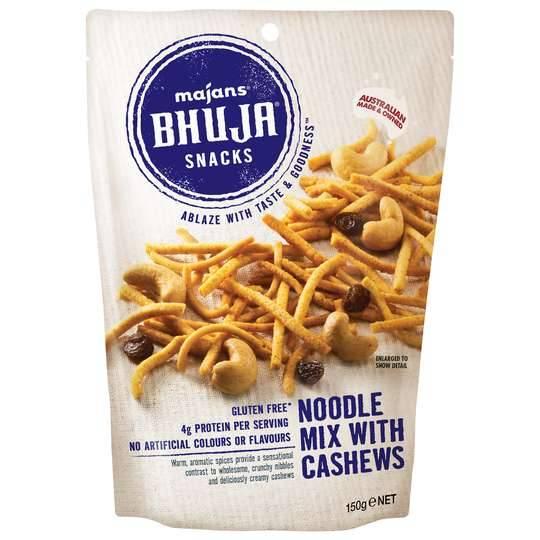 mom81879 reviewed Majans Bhuja Mix Noodle & Cashew