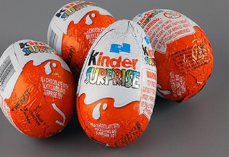 Boy finds shocking surprise inside Kinder Surprise chocolate egg