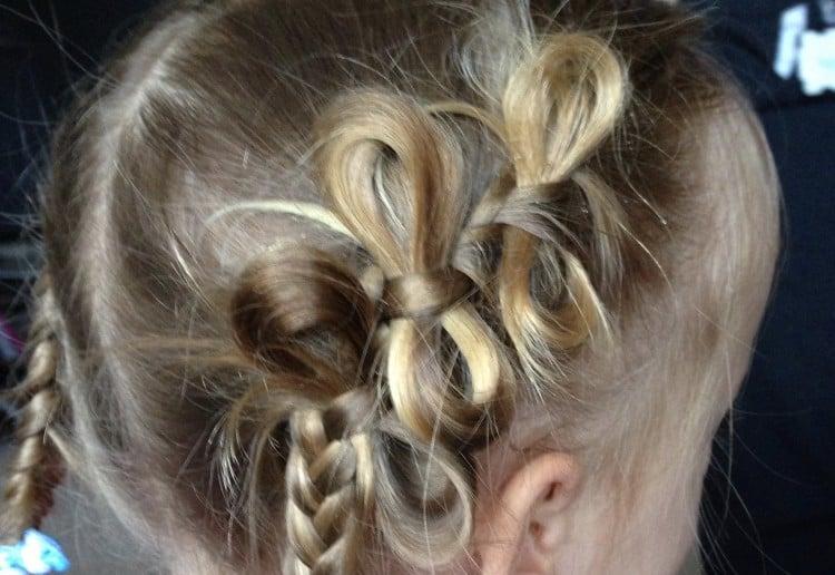 DIY Bow braid
