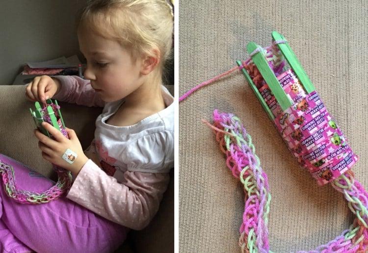 DIY French knitting kit
