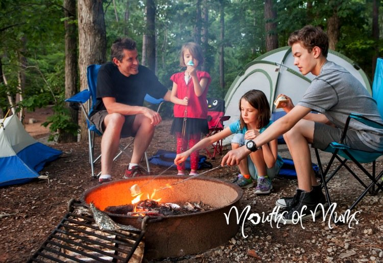5 ways to have fun camping with family