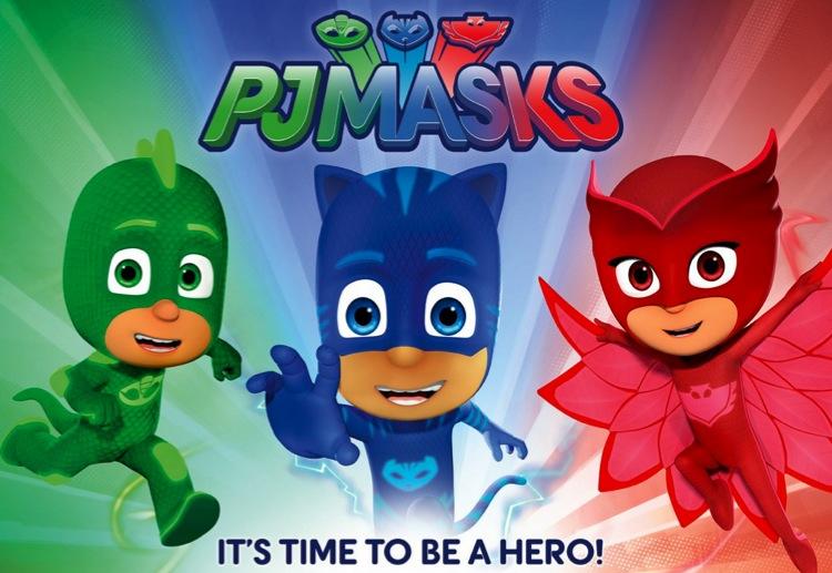 PJ Masks super fun activity sheets, great school holiday entertainment