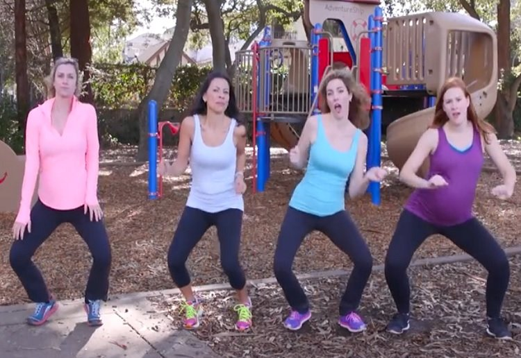 For all mums rockin' the yoga pants