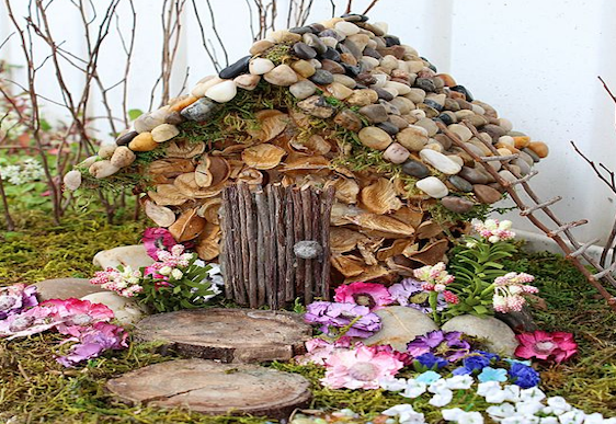 How To Make A Fairy House For The Garden Mouths Of Mums