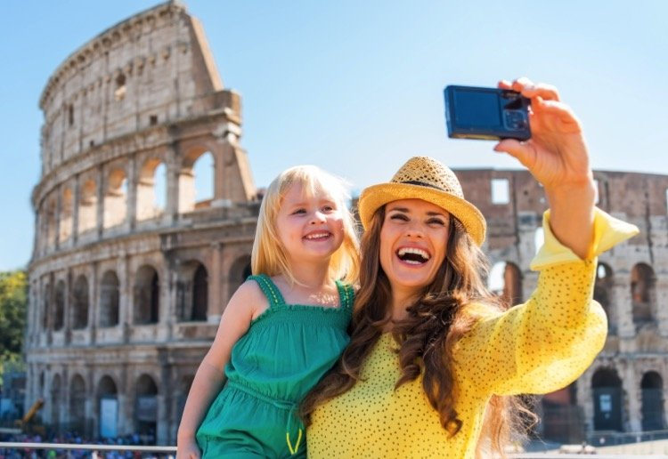 Travelling overseas with your children after family separation