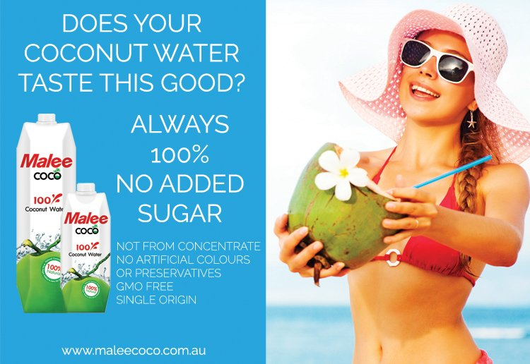 WIN 1 of 5 Malee Coco 100% Coconut Water packs!