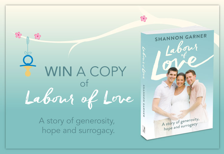 WIN 1 of 20 copies of Labour of Love by Shannon Garner