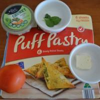 Puff Pastry Bruschetta