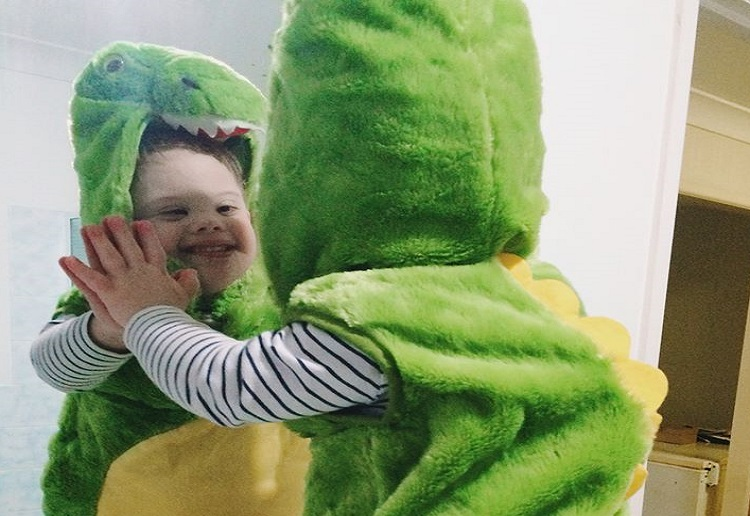 Mum shares: An open letter to my kindergarten son with Down syndrome