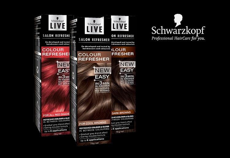 Schwarzkopf live salon refresher product review for Salon schwarzkopf