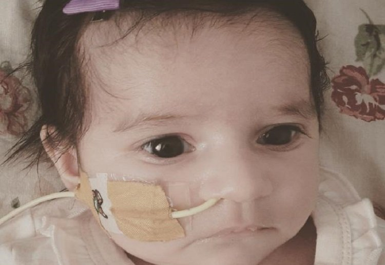 Parents of baby brain damaged from gas mix-up speak for first time