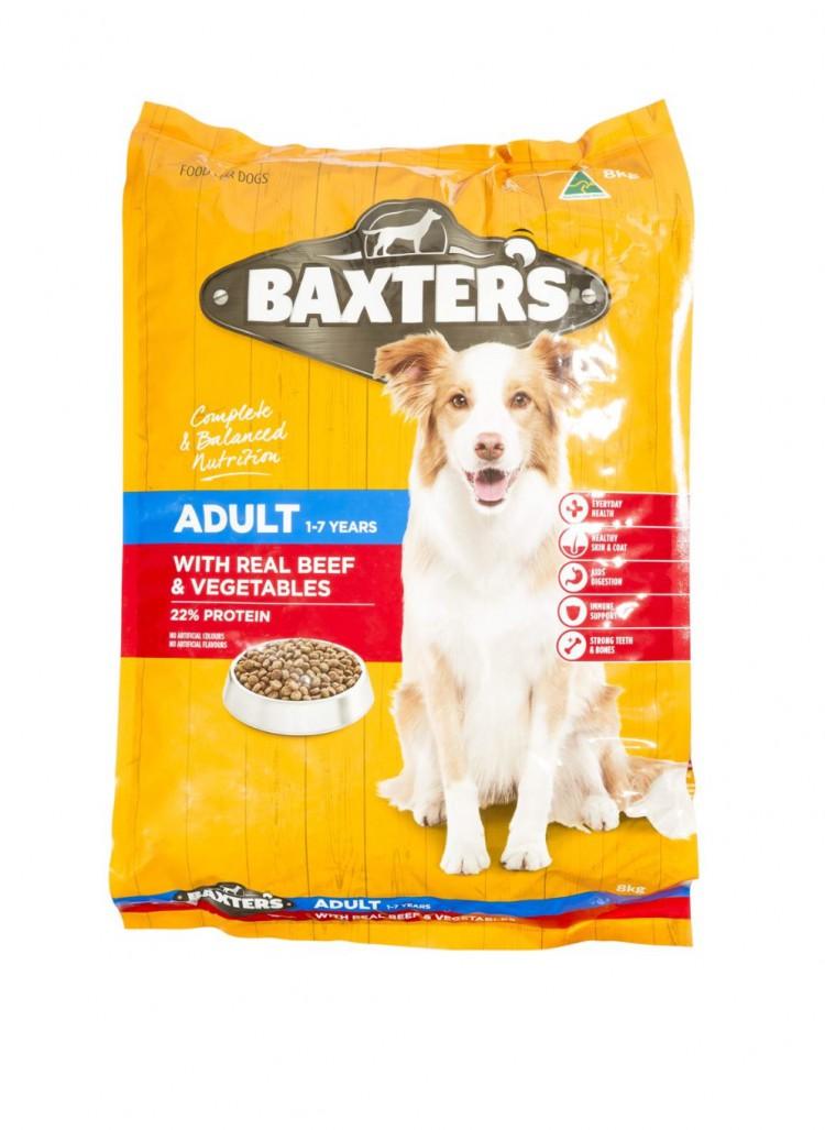 mom419461 reviewed Baxter's dog food beef & veg 8kg