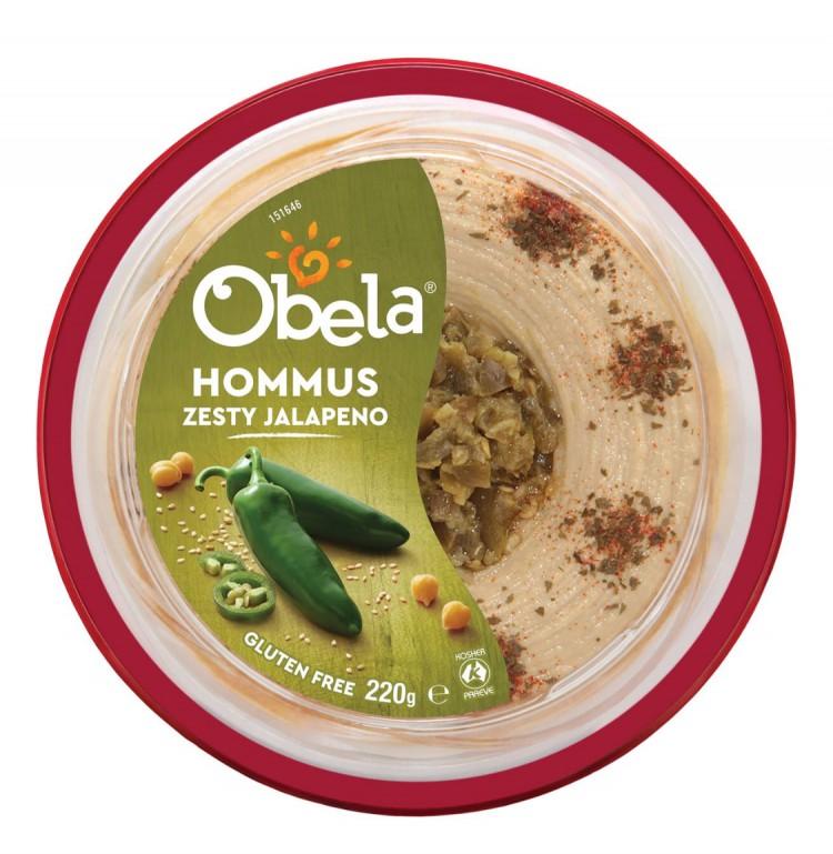 curlytops reviewed Obela Zesty Jalapeño Hummus 220g
